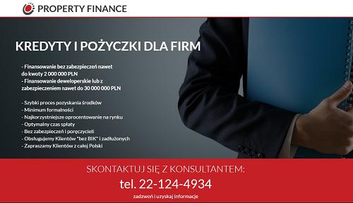 Property Finance Opinie Klientów propertyfinance.pl ❷❸ opinie